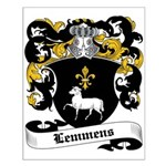 Lemmens Coat of Arms Small Poster