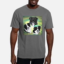 Border Collies Mens Comfort Colors Shirt