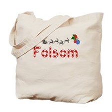 Folsom, Christmas Tote Bag
