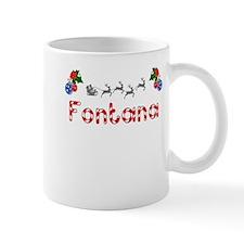 Fontana, Christmas Mug