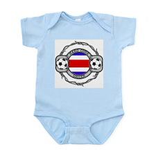 Costa Rica Soccer Infant Bodysuit