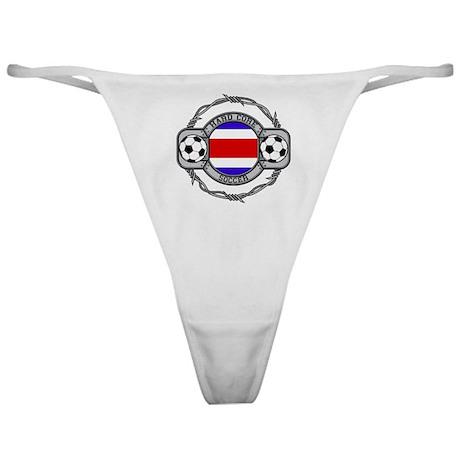 Costa Rica Soccer Classic Thong