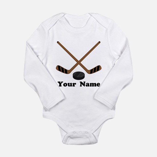 Personalized Hockey Baby Outfits