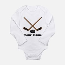 Personalized Hockey Baby Suit