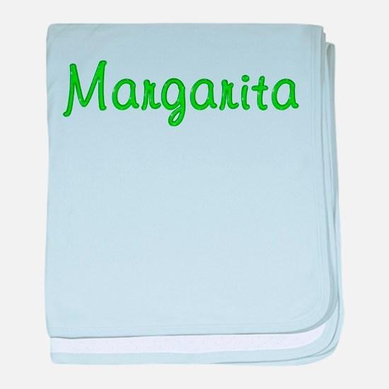 Margarita Glitter Gel baby blanket