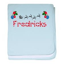 Fredricks, Christmas baby blanket