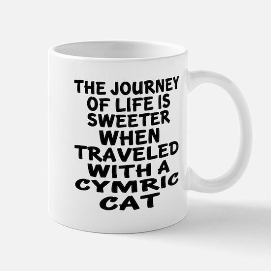 Traveled With cymric Cat Mug