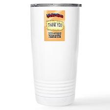 U R My Hero Ceramic Travel Mug