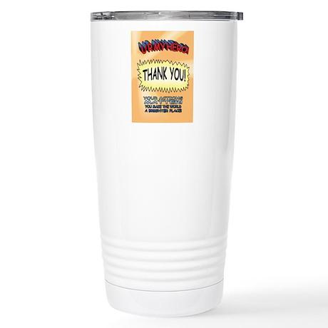 U R My Hero Stainless Steel Travel Mug