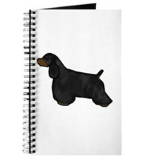 Black & Tan Cocker Spaniel Journal