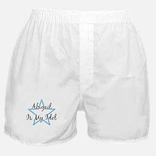 ABIGAIL IS MY IDOL Boxer Shorts