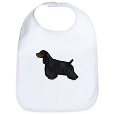 Black & Tan Cocker Spaniel Bib