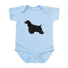 Black & Tan Cocker Spaniel Infant Bodysuit