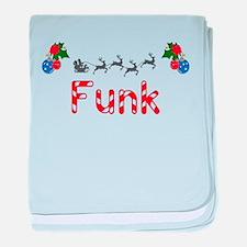 Funk, Christmas baby blanket