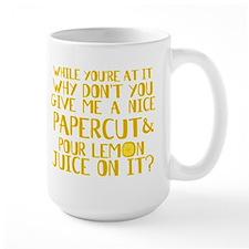 Lemon Juice Princess Bride Large Mug