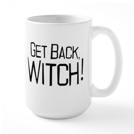 Princess Bride Get Back Witch Large Mug