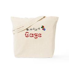 Gage, Christmas Tote Bag