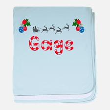 Gage, Christmas baby blanket