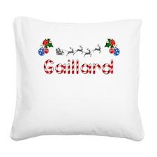 Gaillard, Christmas Square Canvas Pillow