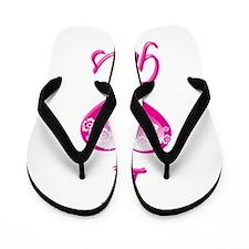 I Love/Heart Gnus Flip Flops