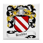Krabbe Coat of Arms Tile Coaster