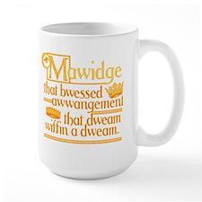 Princess Bride Mawidge Speech Large Mug