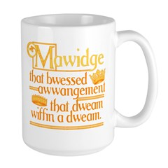 Princess Bride Mawidge Speech Mug