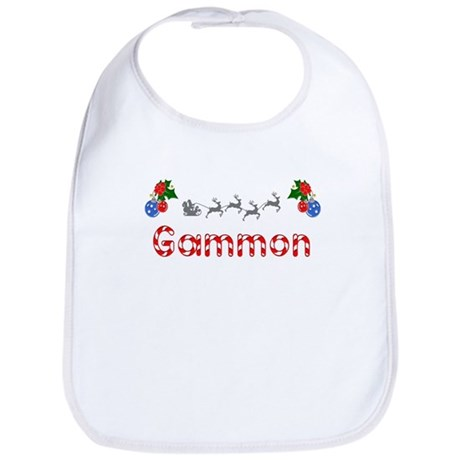 Gammon, Christmas Bib