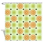 Flower Art Design Shower Curtain