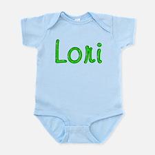 Lori Glitter Gel Infant Bodysuit