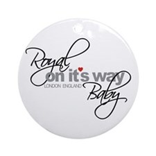 Royal Baby London England 2013 Ornament (Round)