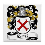 Kempf Coat of Arms Tile Coaster