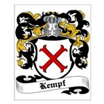 Kempf Coat of Arms Small Poster