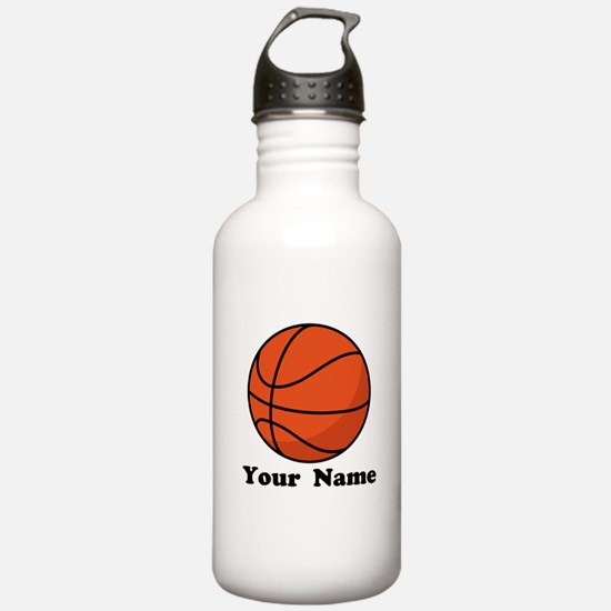 Personalized Basketball Water Bottle