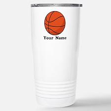 Personalized Basketball Travel Mug