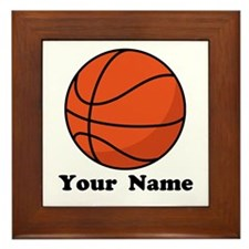 Personalized Basketball Framed Tile