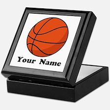 Personalized Basketball Keepsake Box
