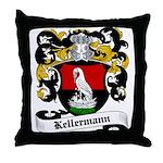 Kellermann Coat of Arms Throw Pillow