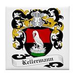 Kellermann Coat of Arms Tile Coaster