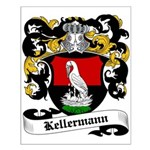 Kellermann Coat of Arms Small Poster