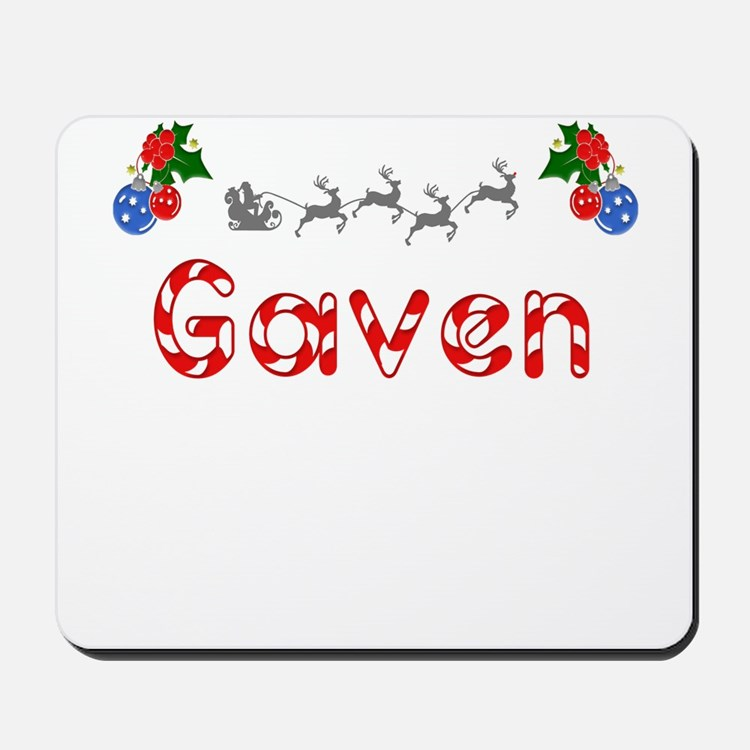 Gaven, Christmas Mousepad
