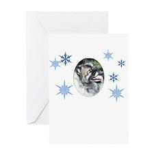 Hannah Snowflakes Greeting Card