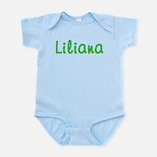 Liliana Glitter Gel Infant Bodysuit