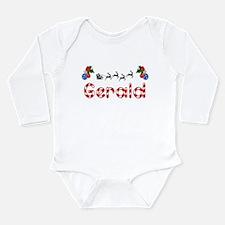 Gerald, Christmas Long Sleeve Infant Bodysuit