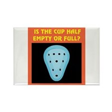 Athletic Supporter Humor Rectangle Magnet