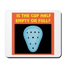 Athletic Supporter Humor Mousepad
