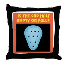 Athletic Supporter Humor Throw Pillow