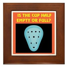 Athletic Supporter Humor Framed Tile