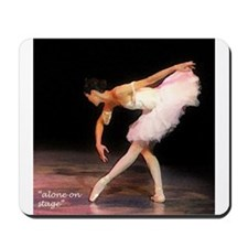 """alone on stage"" Mousepad"