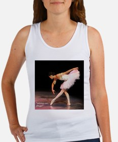 """""""alone on stage"""" Women's Tank Top"""